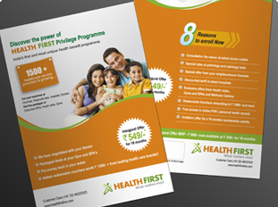 Online Single Page Brochure Printing Upload Or Use Free