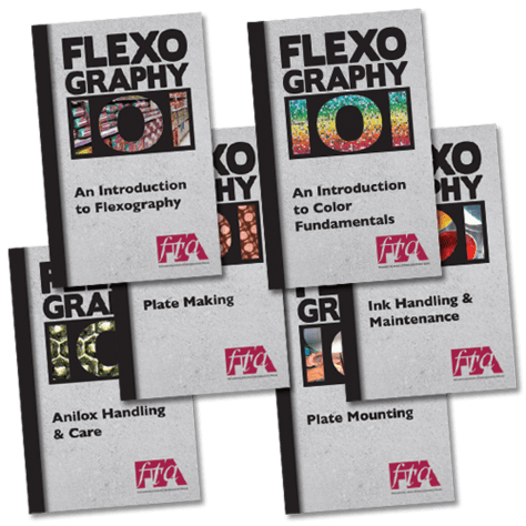 FLEXOGRAPHY 101 Booklet Series - all books