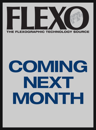 FLEXO Magazine coming next month