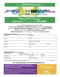 INFOFLEX 2019 Upgrade Form thumbnail