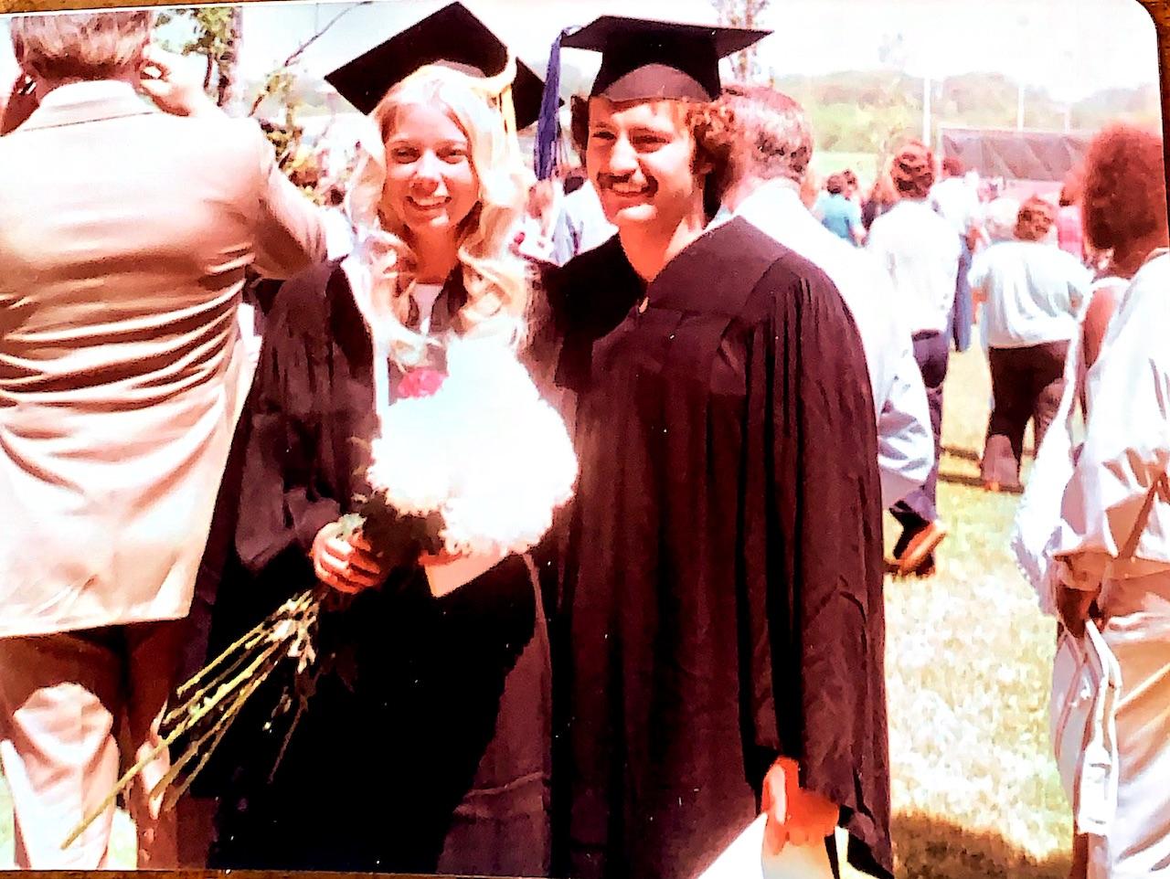 Dave Nieman 2019 FTA Hall of Fame college graduation Eva