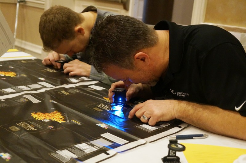 2019 Excellence in Flexography Awards wide web judging