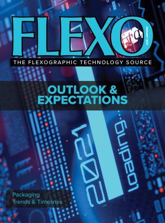 FLEXO Magazine January 2021 cover