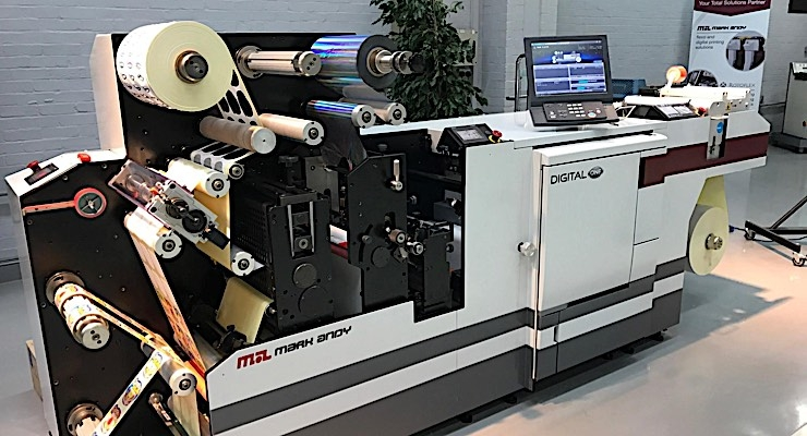 The NEW Mark Andy Digital One brings digital printing with in-line converting to everyday converters -  Debuting at Labelexpo Americas 2016