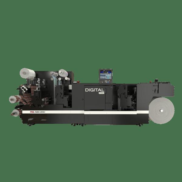 Mark Andy Digital Pro with Pre-Digital Flexo Print Station