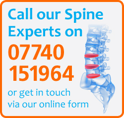 Call Flex Physical Health - Spine experts on 07740 151964 or get in touch online