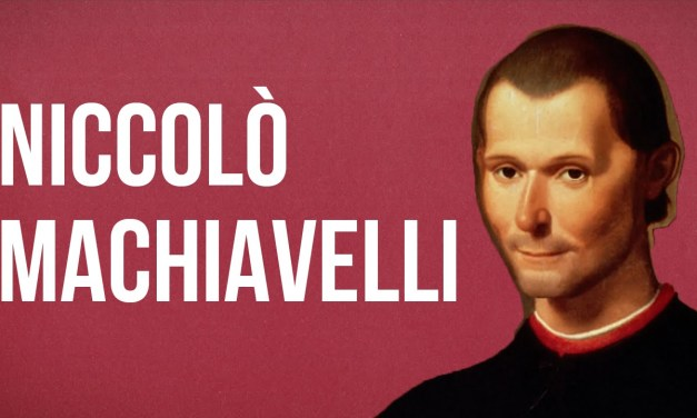 The Political Theory of Niccolo Machiavelli