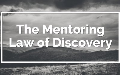 The Mentoring Law of Discovery