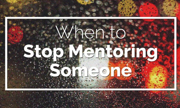 When to Stop Mentoring Someone