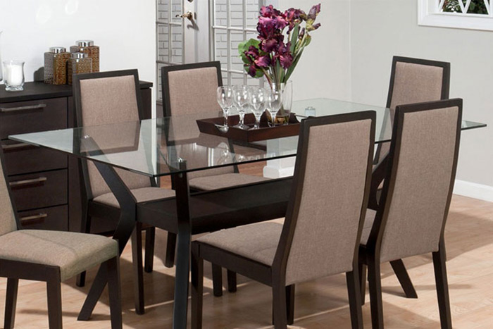 glass table tops in palm beach