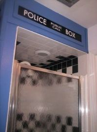 Doctor Who thing: take a shower with the Doctor ...