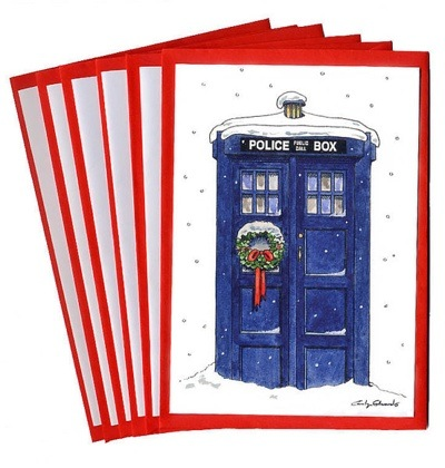 Doctor Who Thing Christmas Cards With A Timey Wimey