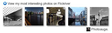 Meine häufigsten Klicks bei Flickr