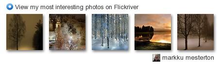 markku mestila - View my most interesting photos on Flickriver