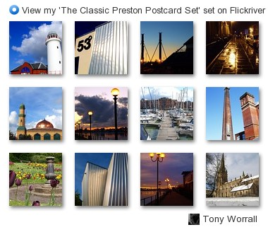 Tony Worrall Foto - View my 'The Classic Preston Postcard Set' set on Flickriver
