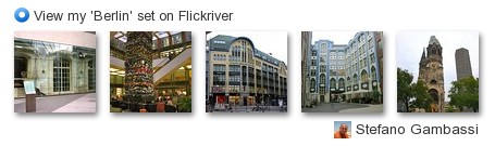 Stefano Gambassi - View my 'Berlin' set on Flickriver