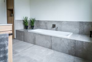 Bad Wande Ohne Fliesen   badezimmer neu gestalten house