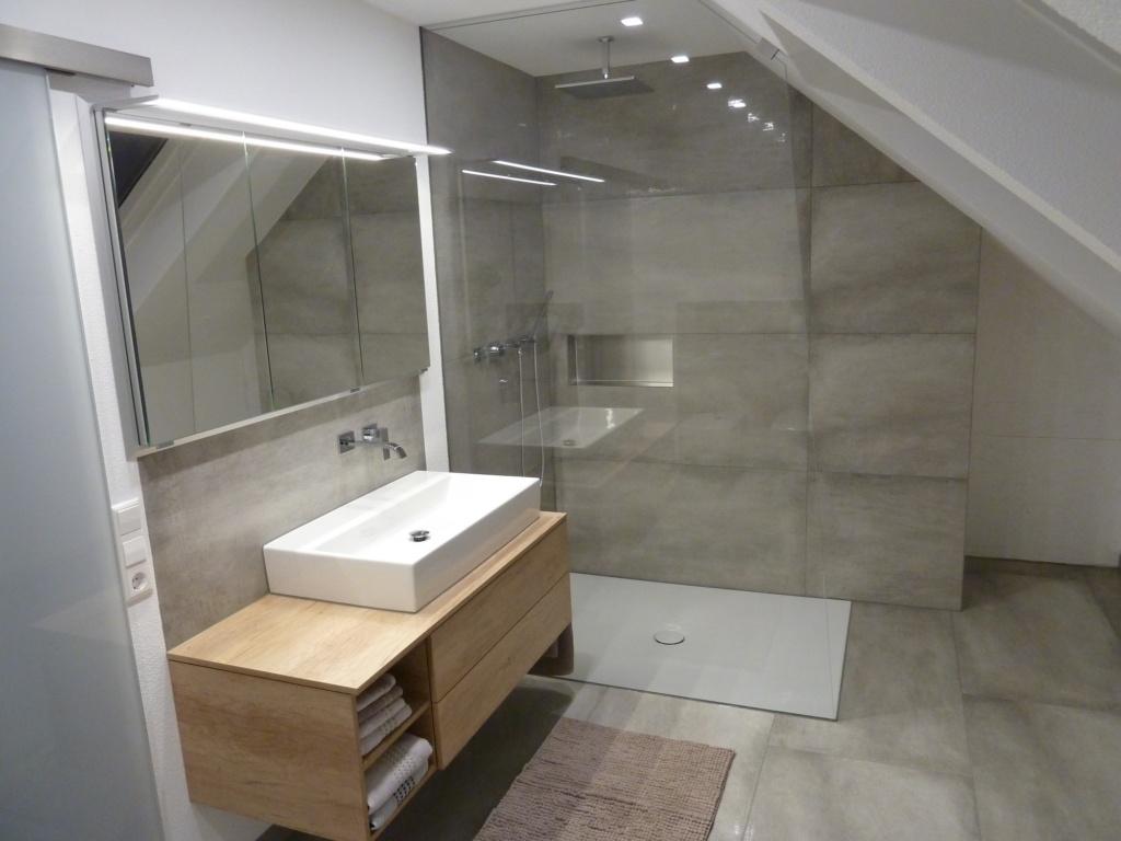 Impressionen einer BadezimmerRenovierung  Fliesengalerie UW GmbH