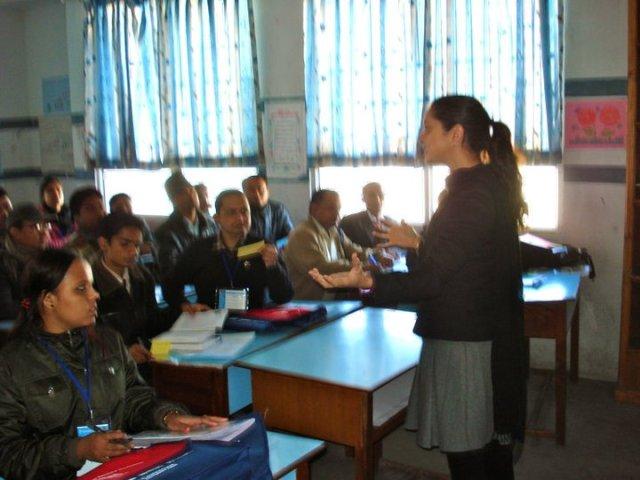 Jaala Teaching in Nepal
