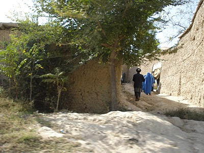 Villagers in Paghman