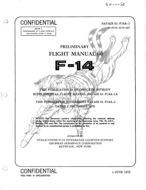 small resolution of flight manual for the grumman f 14 tomcat