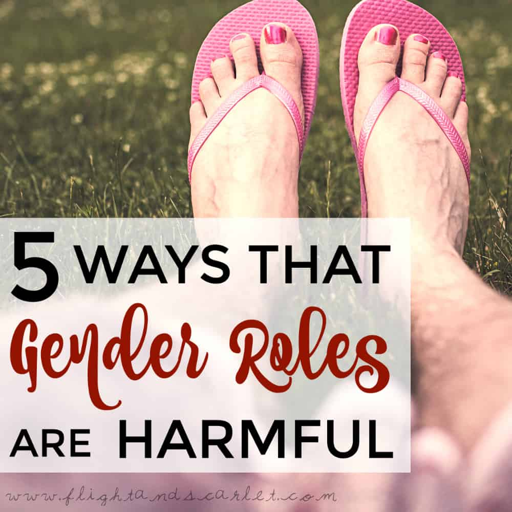 Some people fit well into their gender roles, and are happy. So why are gender roles harmful? Check out these 5 answers.