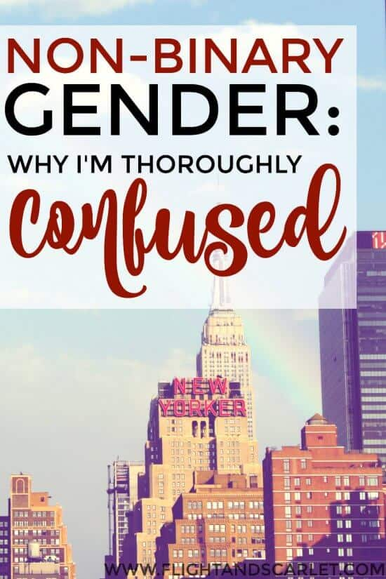 Confused about non-binary gender? This is a great post! The author explains without condescension why she's torn about whether non-binary gender exists. I really enjoyed this read, and now I really want to learn more!