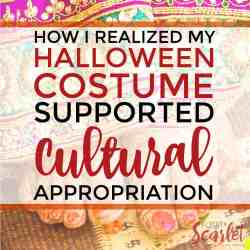 How I Realized My Halloween Costume Supported Cultural Appropriation