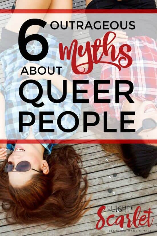 You know all those weird myths about queer people that really dehumanize them and make them seem alien? Here's why six of them aren't true! Love the humor in this post, it's perfect!