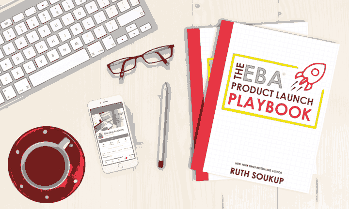 I'm so excited to start Elite Blog Academy 3.0 this year! I can't believe I'm going to get the EBA Product Launch Playbook with it for free — it's a guide to EXACTLY how EBA's creator runs her launches, with templates and examples literally copied & pasted from her launches! I can barely wait to start reading it!
