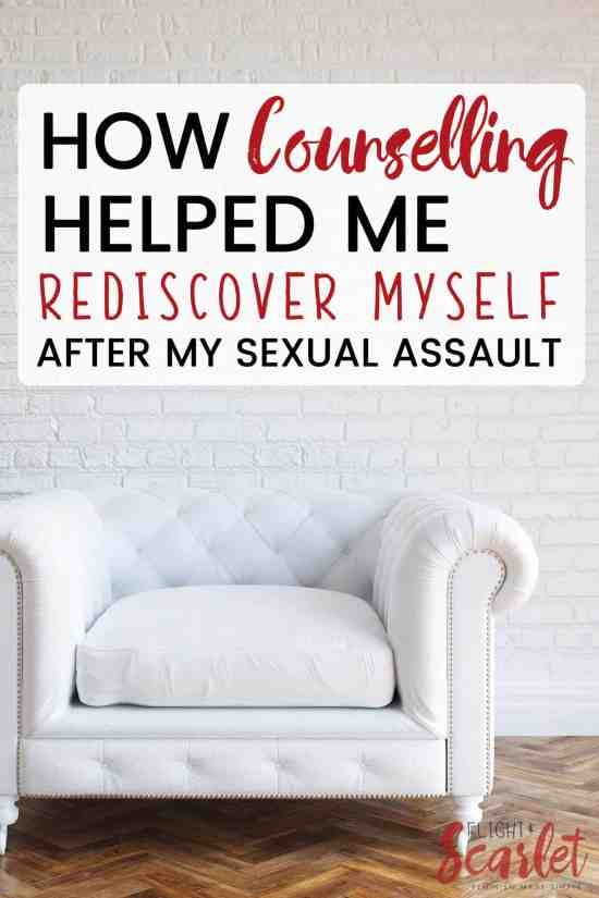 I love this story. It is so honest and beautiful. I know that getting counselling after sexual assault is a big step in healing, and I love how this survivor shares that it is helping her rediscover herself after her sexual assault. What an inspiration.