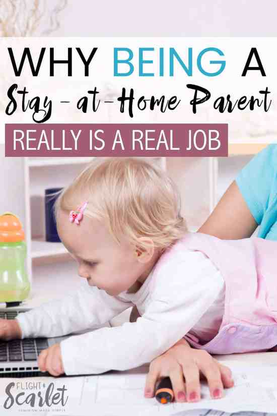 Ever wondered what the real value of being a stay-at-home parent is? Check out this post about why it's a real job and what it means financially. parenting   kids   family   work at home   stay at home   wife   moms   dad   activities   budget   mum