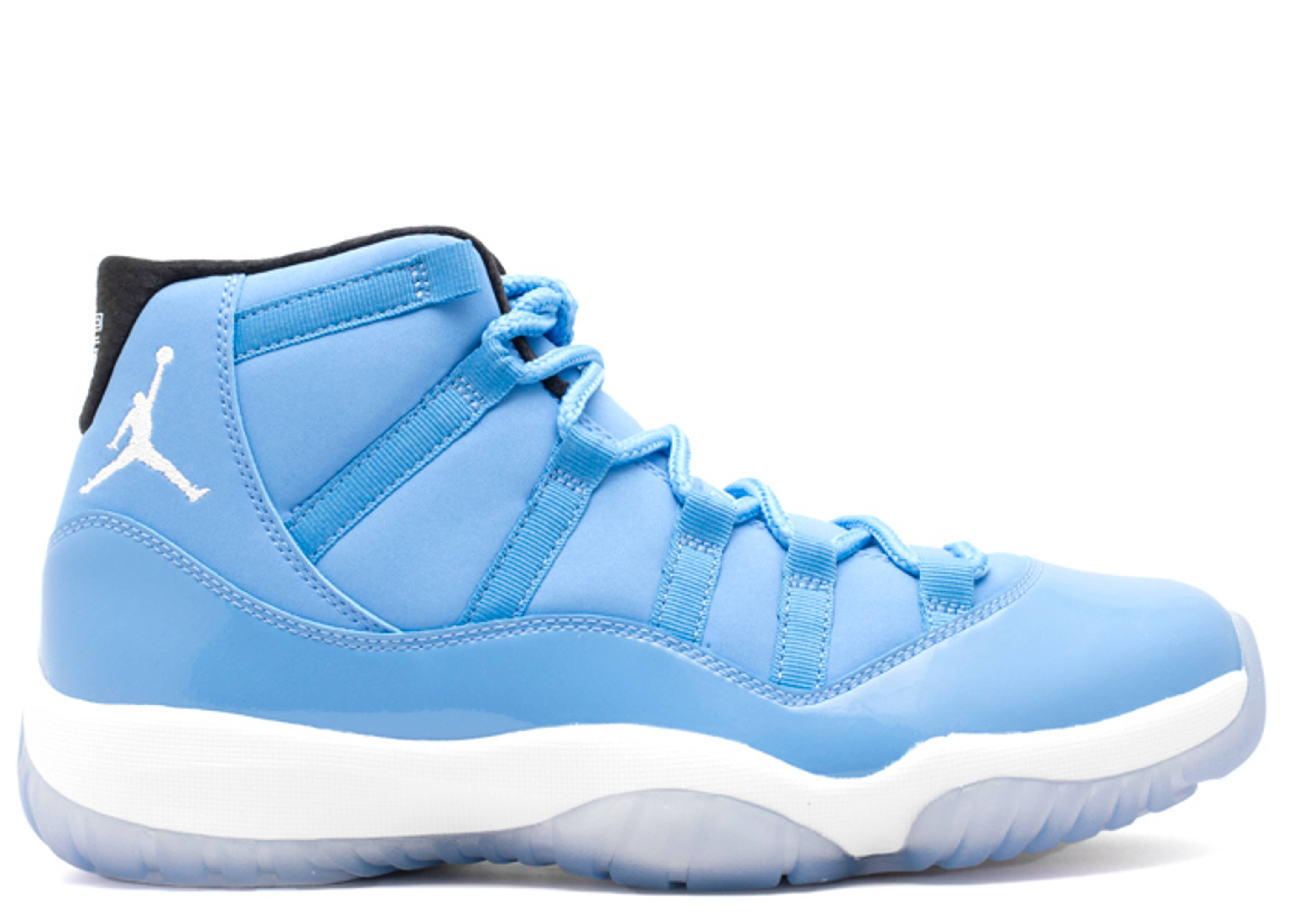 All New Jordan 11s Baby Blue And White