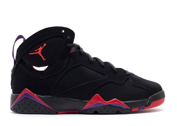 air jordan 7 retro gs blacktr rddrk chrclclb prpl