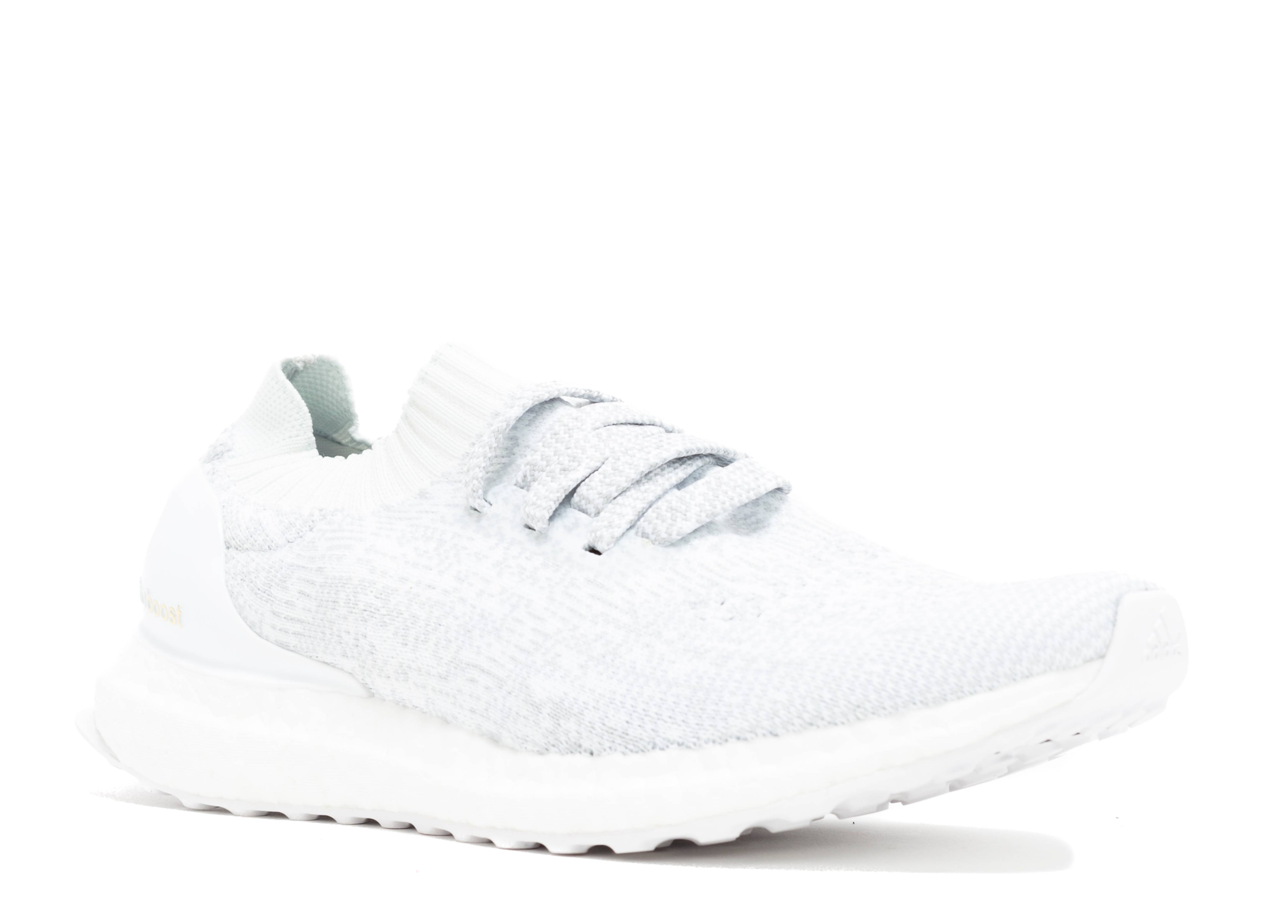 ultra boost uncaged ltd white/clear grey