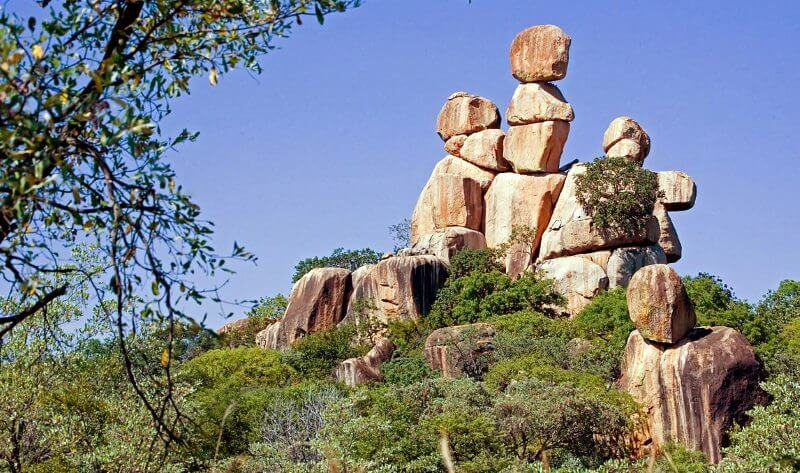 Epworth Balancing Rocks Zimbabwe