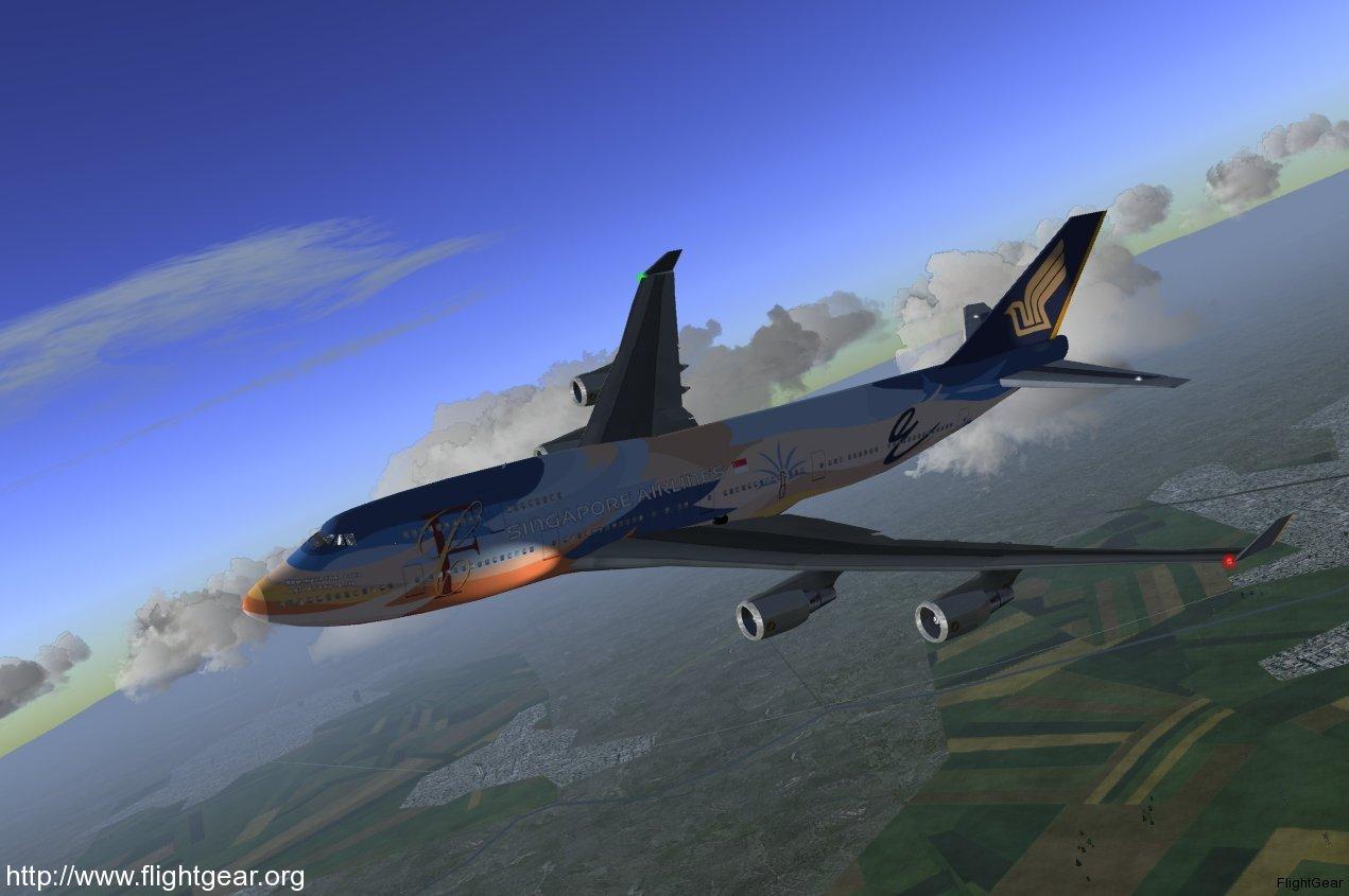 """""""Contribuir a FlightGear puede ser educativo y muy divertido. Un desarrollador de tiempo, Curtis Olson, tuvo esto que decir sobre el trabajo en Flight Gear:"""""""