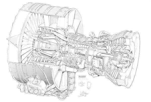 Rolls Royce Ae 3007 Engine, Rolls, Free Engine Image For