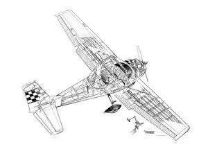 Cutaways (General Aviation Cutaways) Gallery. Framed