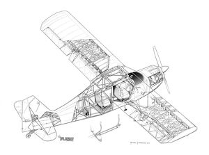Piper Cherokee In Flight, Piper, Free Engine Image For