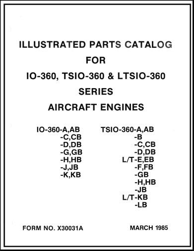 Continental IO-360 TSIO-360 LTSIO-360 Series