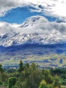 Chimborazo! Ecuador. Taller than Mt. Everest