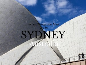 Fun things to do in Sydney