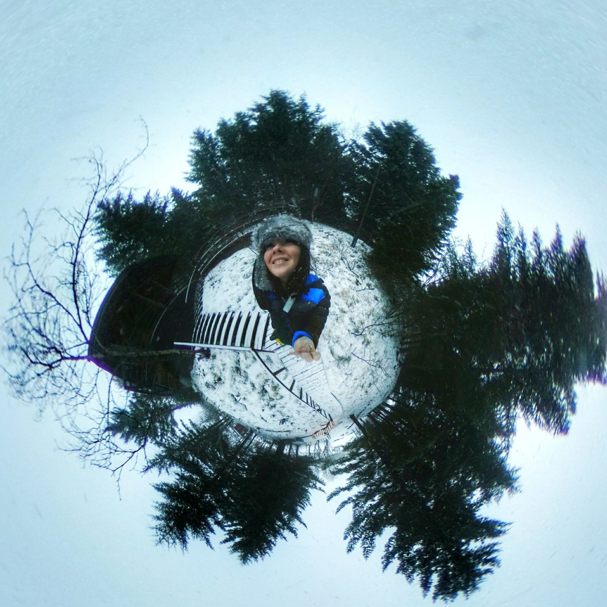 How to Make a Tiny Planet with 360 Camera