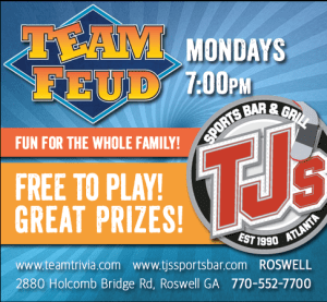 Team Feud Alpharetta things to do