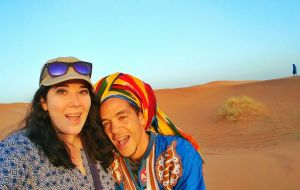 camel berber guide