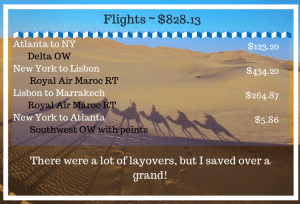 Flights to Morocco