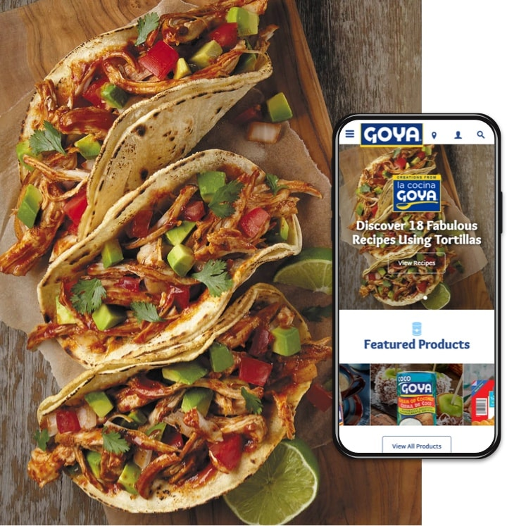 goya tacos
