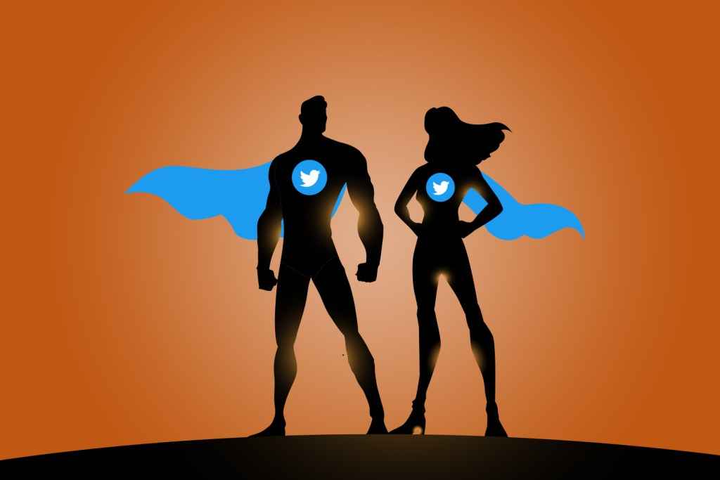 superhero outlines