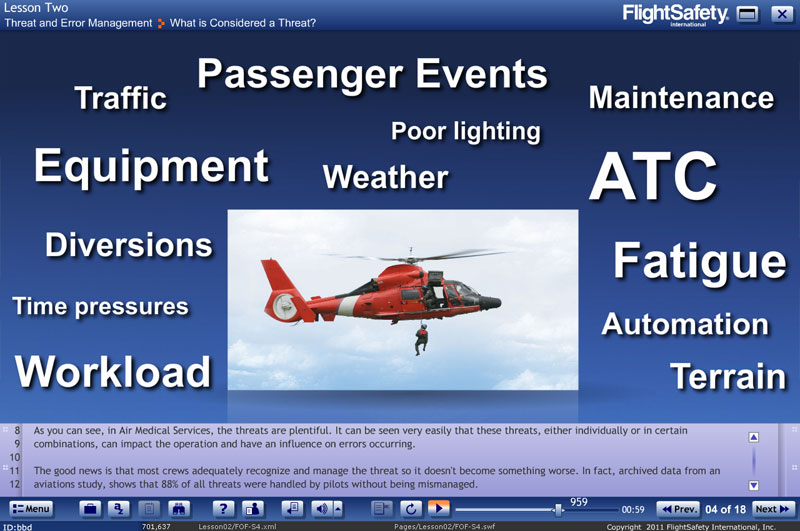 Air Medical Resource Management FlightSafety
